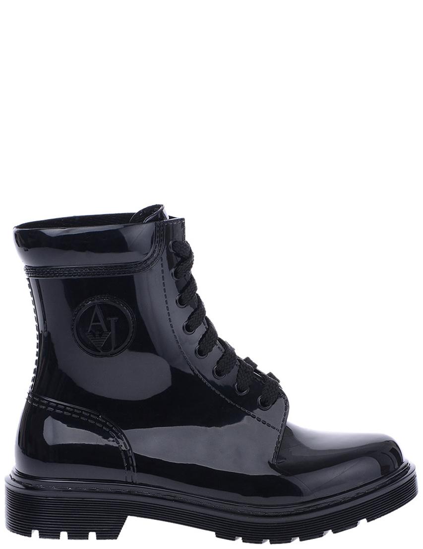 Купить Ботинки, ARMANI JEANS, Черный, 100%Полиэстер, Осень-Зима