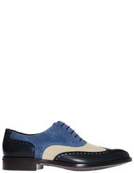 Мужские броги Moreschi S42160_blue