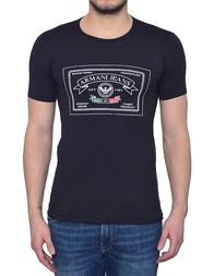Мужская футболка ARMANI JEANS Z6H03-E5_black