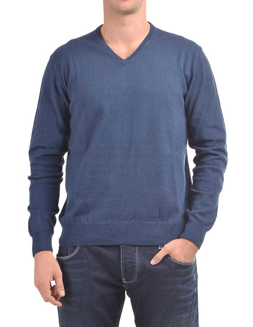 Мужской пуловер CASHMERE COMPANY 15122-navy