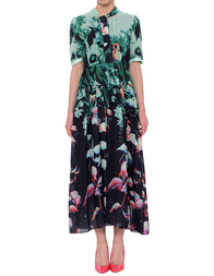 Женское платье ANONYME A17SD113-green