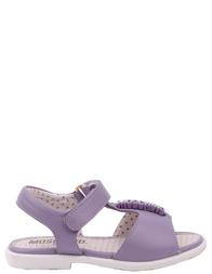 Детские босоножки для девочек MOSCHINO 25424-violet