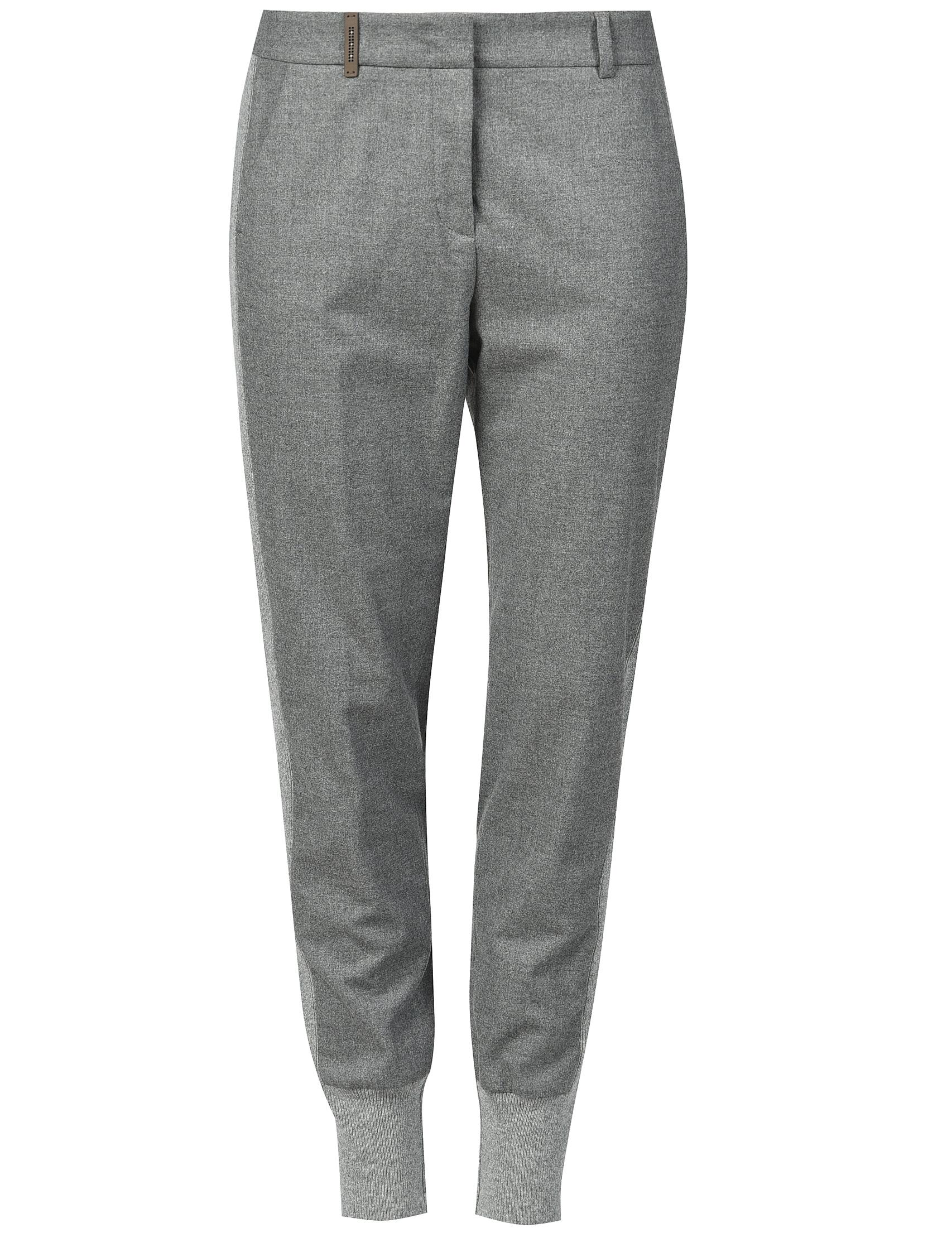 Женские брюки PESERICO 04830_gray