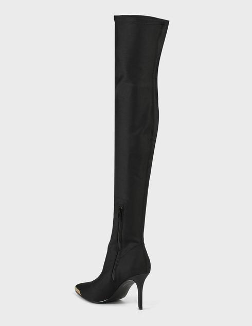 черные Ботфорты Versace Jeans Couture 71VA3S53-899 размер - 36; 37; 38; 39