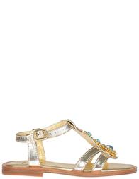 Детские босоножки для девочек Gallucci 557_gold