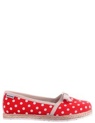 Детские мокасины для девочек MOSCHINO 25416-red