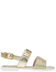 Детские сандалии для девочек Moschino 25864-platino_gold