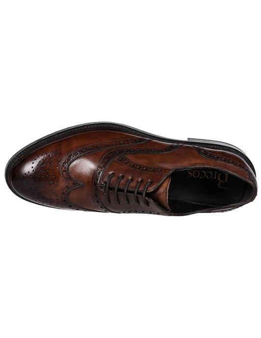 коричневые Оксфорды Brecos 9130 размер - 41; 42; 42.5; 43; 43.5; 46