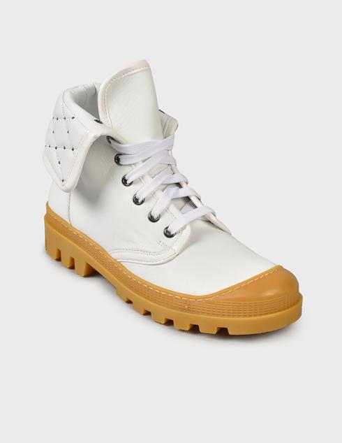 женские белые Ботинки Baldinini D2BS28NAPI9002 - фото-2