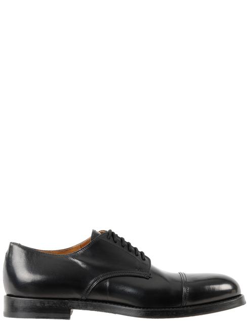 мужские черные Дерби Doucal'S DU2170DAVIUF063NN00 - фото-2