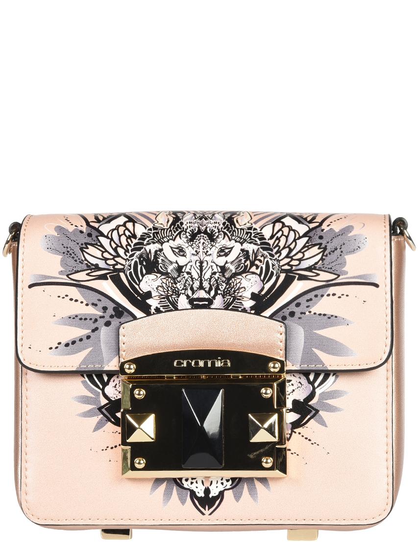 Купить Женские сумки, Сумка, CROMIA, Розовый, Осень-Зима