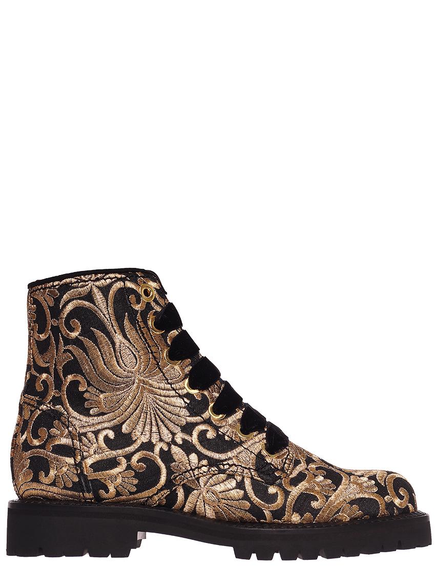 Женские ботинки Sebastian 7437_gold
