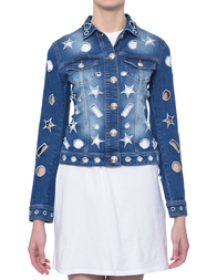Женская куртка PHILIPP PLEIN 0033_blue