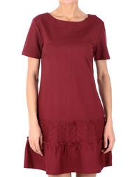 Женское платье RED VALENTINO 2H7_vinous