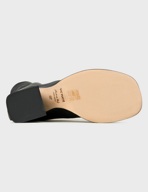 женские черные кожаные Ботильоны Vic Matie 1X8552D.X24U140101 - фото-5