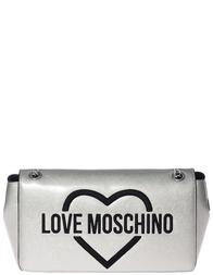 Женская сумка Love Moschino 4307_silver