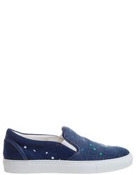 Женские слипоны DSQUARED2 SS16K503_blue