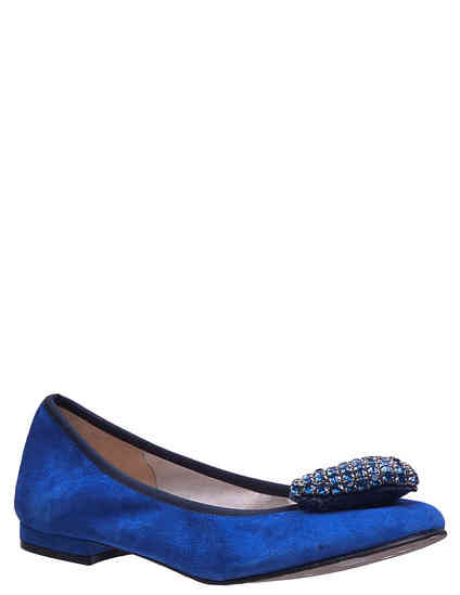 женские синие Балетки To Be Kuki_blue - фото-2