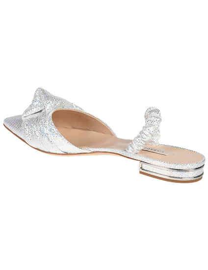 серебряные женские Босоножки Casadei 690_silver 11081 грн