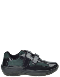 Детские кроссовки для мальчиков PRADA PRA396_black