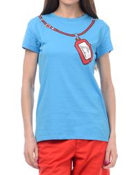 Женская футболка LOVE MOSCHINO 4F7803M3517Y07
