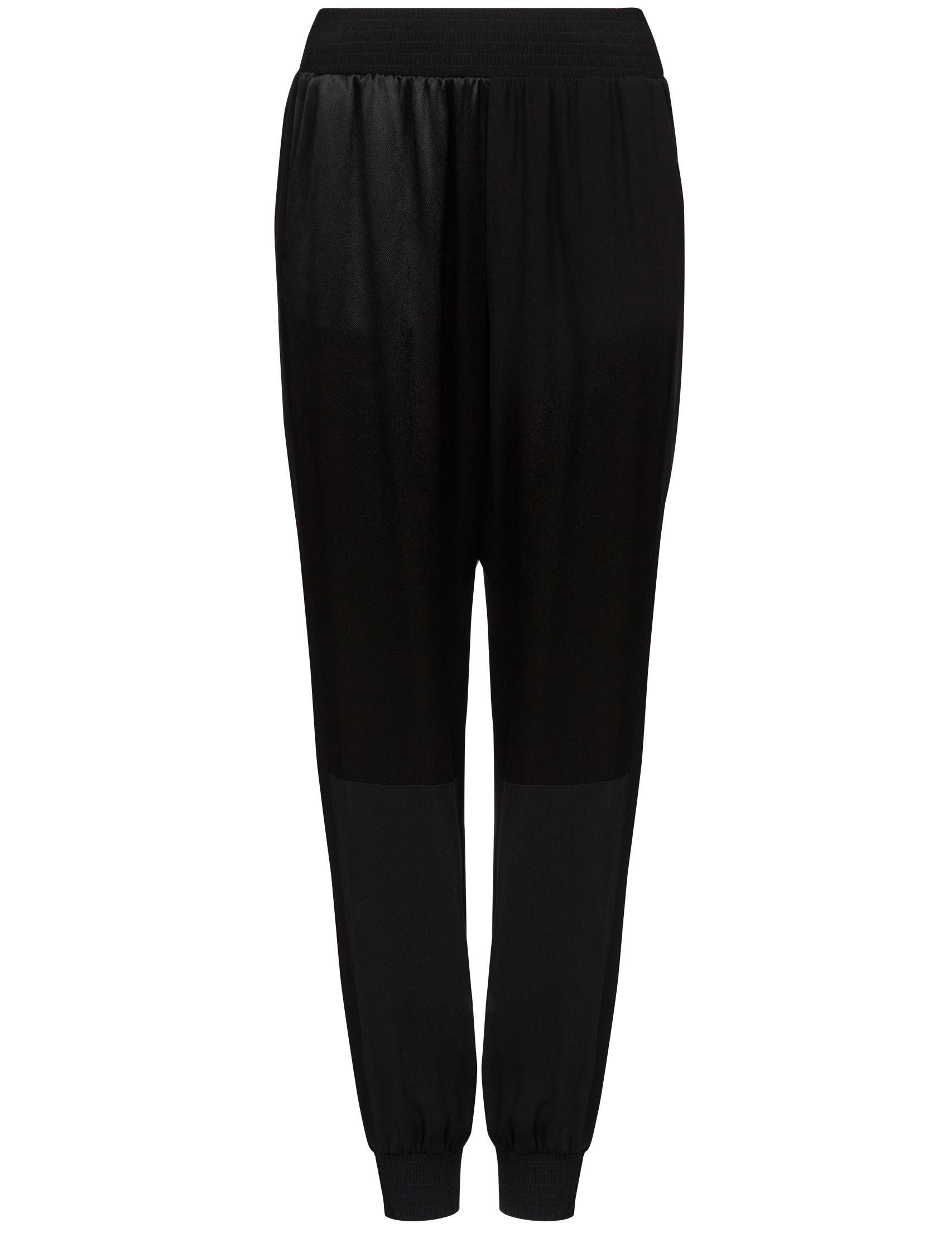 Купить Спортивные брюки, PINKO, Черный, 100%Вискоза, Весна-Лето
