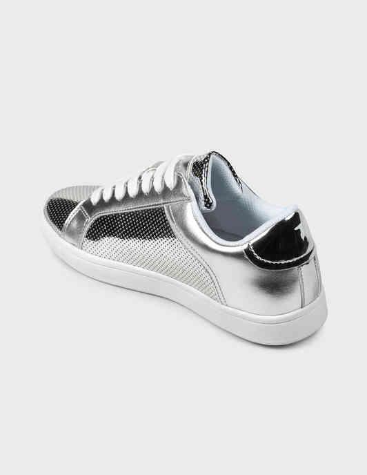 серебряные женские Кеды Trussardi Jeans 79A005289Y099998-M020 2037 грн