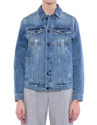 Женская куртка UP JEANS UWGI0861--denim