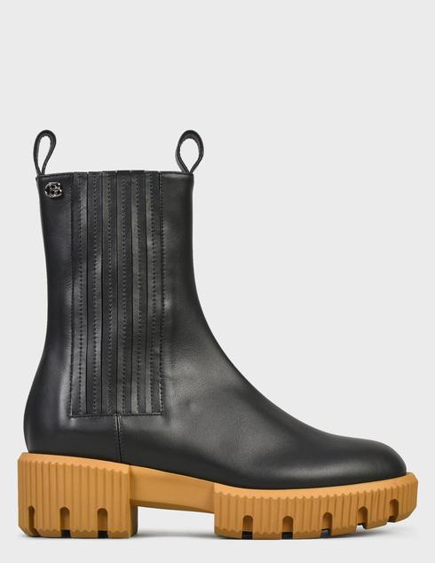женские черные Ботинки Baldinini D2B620VIGE0000 - фото-6