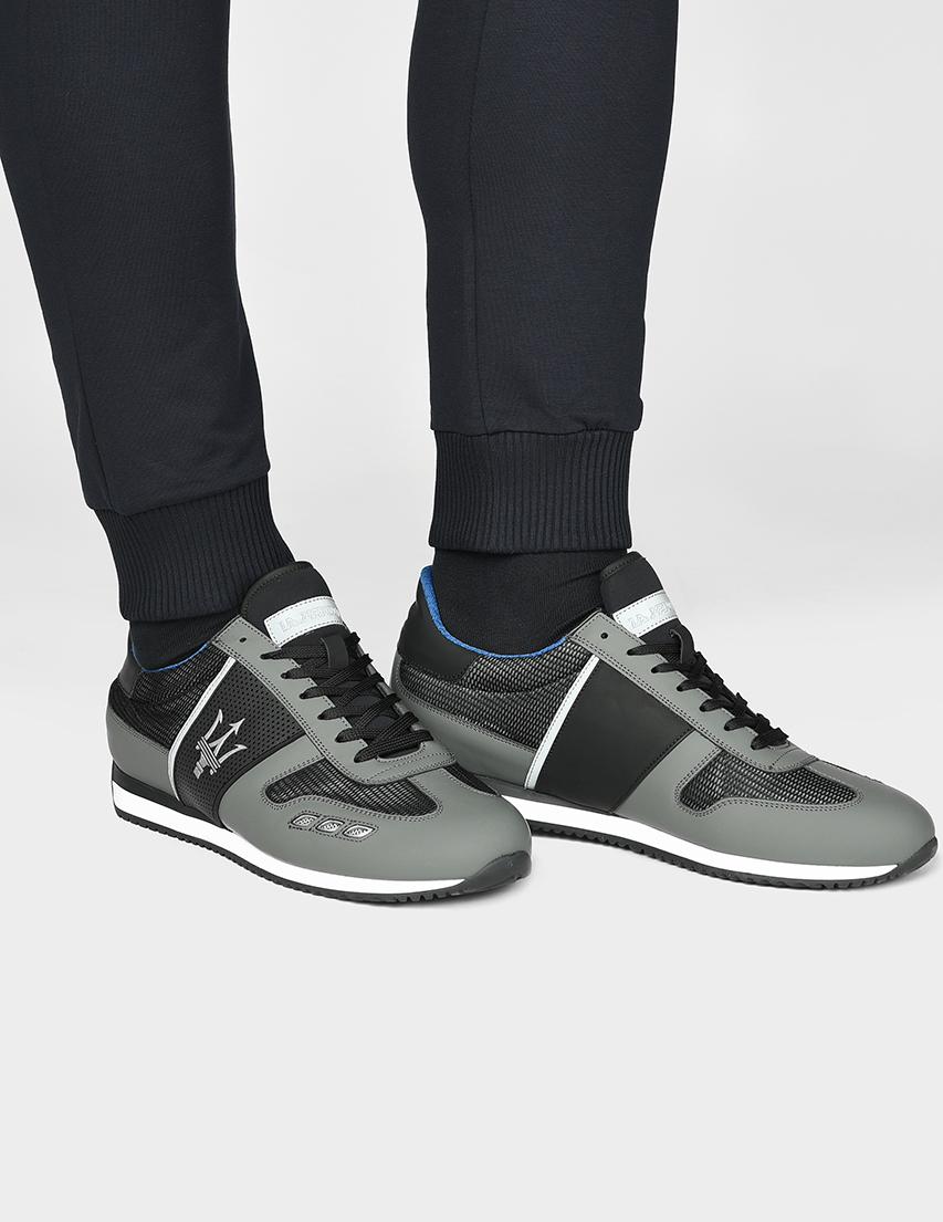 Мужские кроссовки La Martina N6095_gray