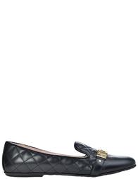 Детские туфли для девочек Moschino 25850-vitello-nero_black