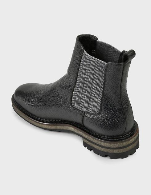 мужские черные Ботинки Pertini 202M24843D2 - фото-2