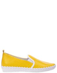 Женские слипоны FRANCESCO VALERI 168V_yellow