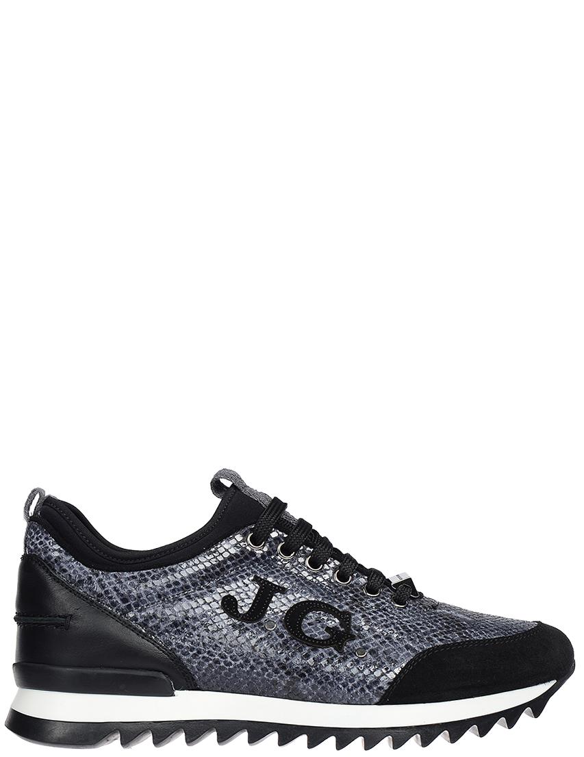 Мужские кроссовки John Galliano 1236-grey_black