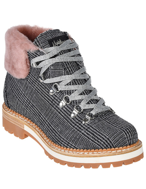 женские серые Ботинки Montelliana MNTL4_115_5 - фото-2
