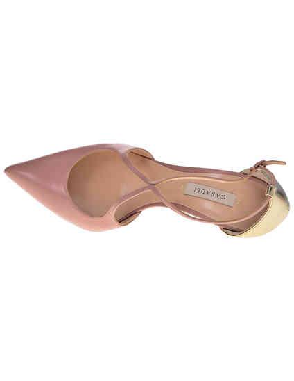 женские розовые кожаные Босоножки Casadei N060_pink - фото-5