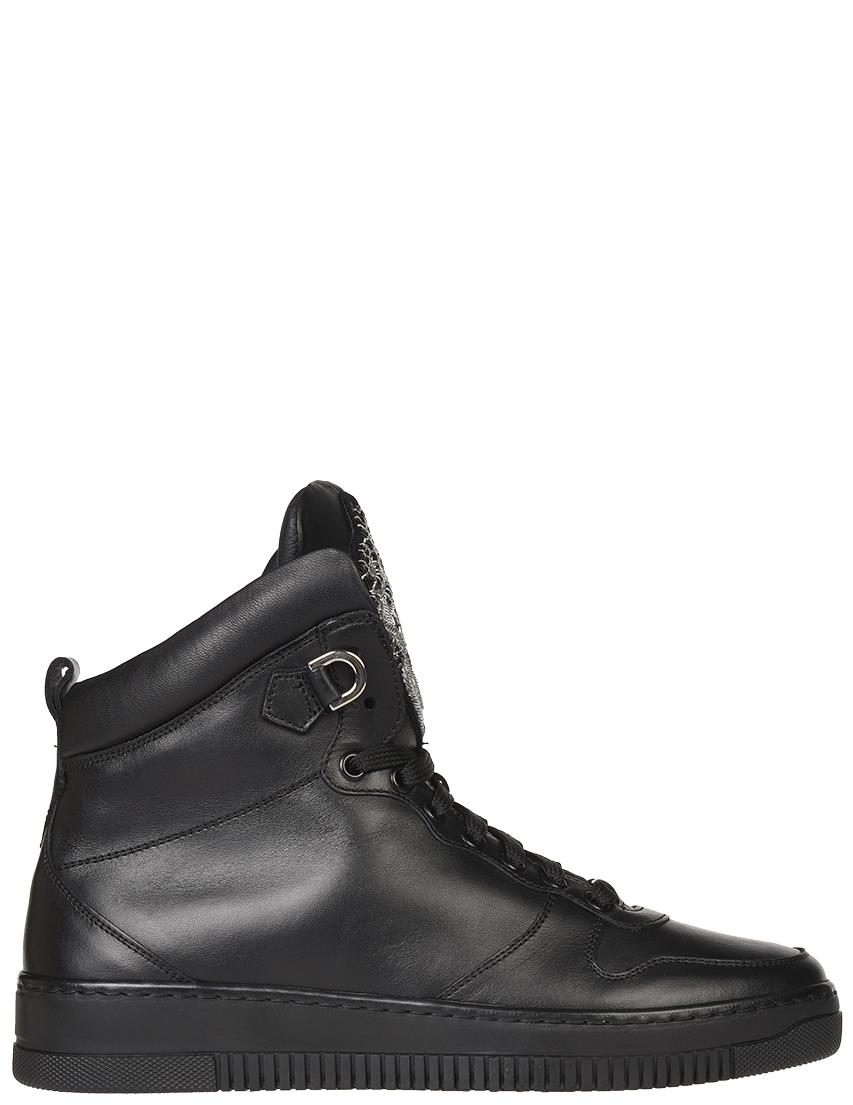 Мужские кроссовки Roberto Cavalli 5211-К_black