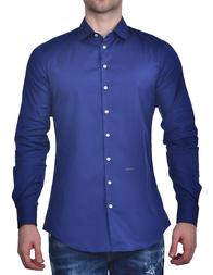 Мужская рубашка DSQUARED2 0716_blue