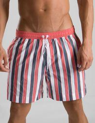 Мужские шорты пляжные GERONIMO 1010p1Red-Black