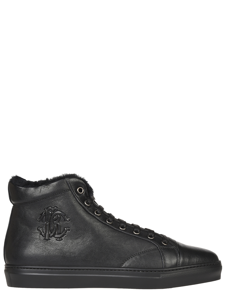 Мужские кеды Roberto Cavalli 1037-1-М-К-GL_black