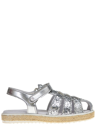Детские сандалии для девочек Naturino 8091-argento_silver