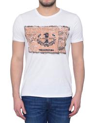 Мужская футболка TRUSSARDI JEANS 56T27-01_white