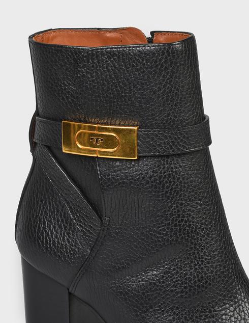 женские черные кожаные Ботильоны Tory Burch 74355-BLACK - фото-5
