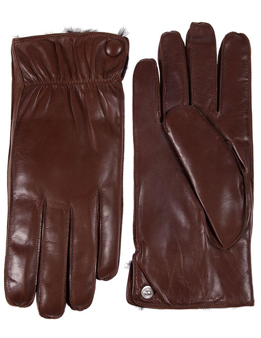 Мужские перчатки ALPA GLOVES SN-4008-014cognak