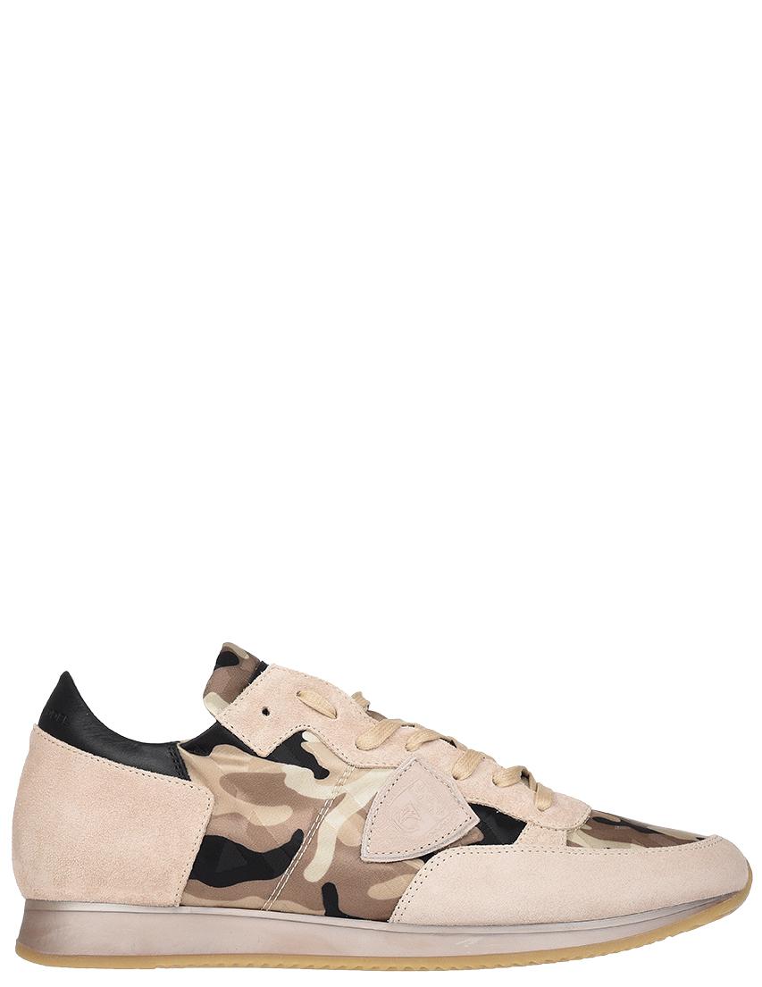Мужские кроссовки Philippe Model STRLU-CF23_beige