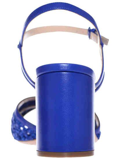 женские синие Босоножки Casadei 362_blue - фото-2