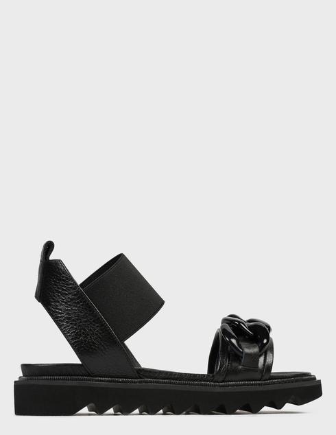 женские черные Босоножки Pertini 211W30942D1 - фото-6