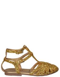 Босоножки для девочек TWIN-SET HS58AS_gold