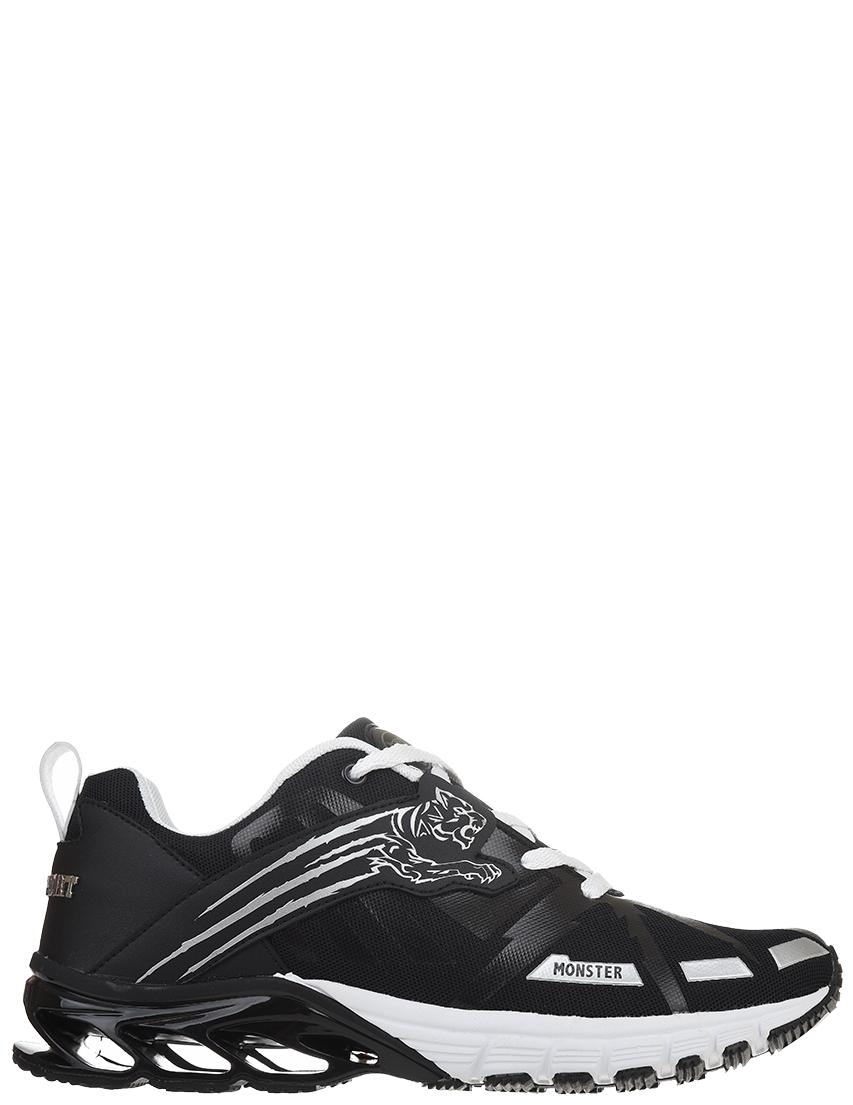 Мужские кроссовки Plein Sport 1176--silver_black