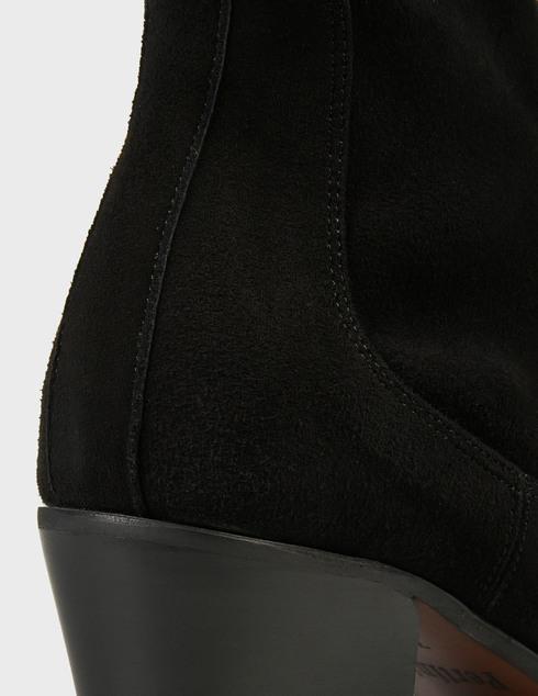 женские черные замшевые Ботильоны Pertini 202W30401D2 - фото-5
